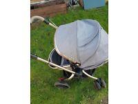 mothercare grey pram