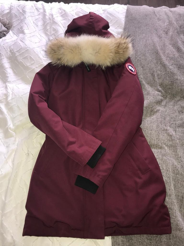 5a7eaa4926af norway authentic canada goose womens jacket victoria parka size small fadb2  e8036