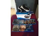 Playstation VR With Camera, Games & 3D Movies