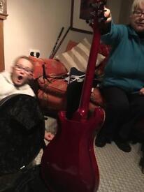 Prs hollowbody 1 guitar