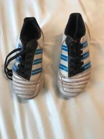 Boys Adidas football boots size 11