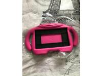 Pink case for tablet never used