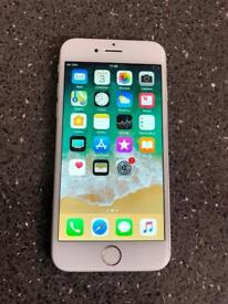 Apple iPhone 6 (16GB) Mobile Phone, Unlocked, Silver, Nearly Brand New.