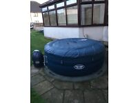 Lay Z Spa Saint Tropez hot tub plus all chemicals & accessories to get you up and running.