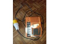 RIDGID RAPID MAX BATTERY 110v CHARGER 9.6v-18.0v #R840091 9.6V/12.0V/14.4V/18V USED