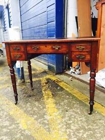 Stunning Edwardian Mahogany Ladies Writing Desk