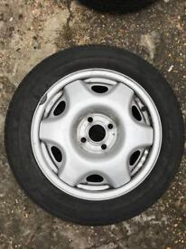 Vauxhall Astra C Alloy and tyre