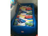 Little tykes car bed.good condition, from smoke free pet free home