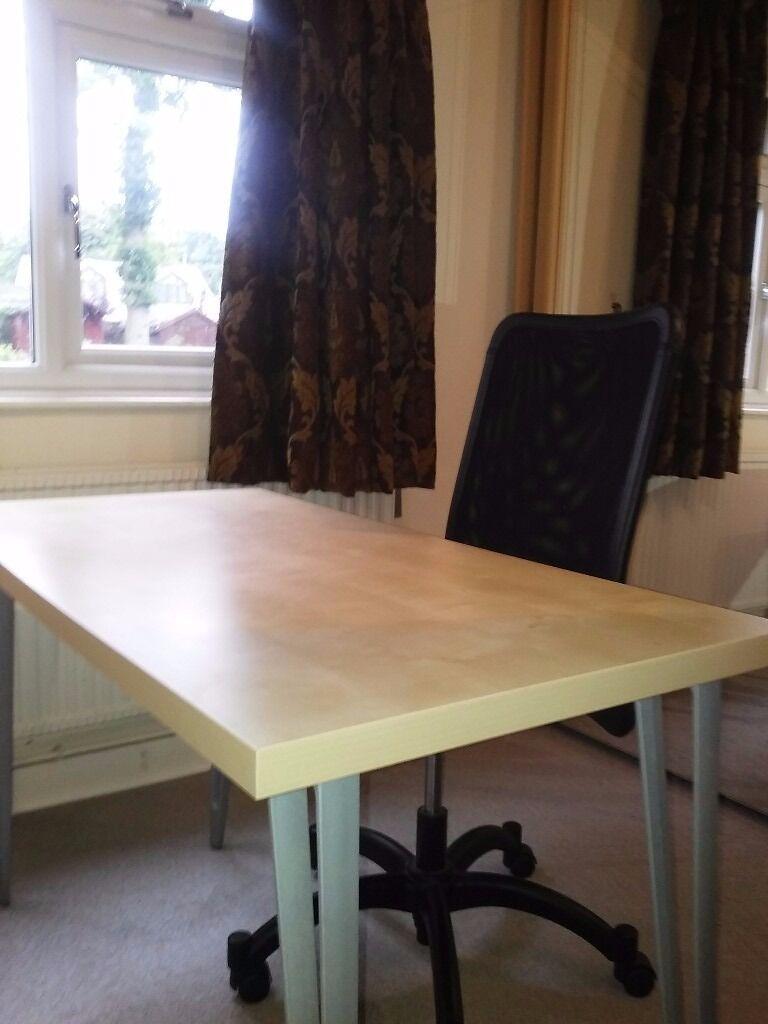 Beachwood Desk And Chair In Crowthorne Berkshire Gumtree