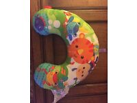Fisher Price tummy time pillow