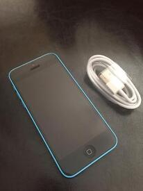 iPhone 5C Blue 16gb Immaculate condition