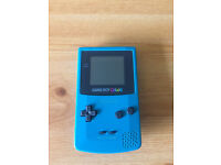 Gameboy Color boxed in mint condition w/ Pokemon Red, Blue, & Yellow, also inc. Pikachu hard case