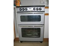 New Home EC600 DO DlM double oven cooker with ceramic hob