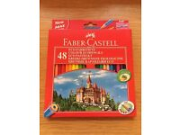 FABER-CASTELL 48 Colour Ecopencils. Brand New and Unopened !