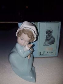 2 yes 2 beautiful babies - retired Lladro Pieces