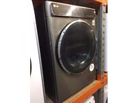 STAINLESS STEEL 9KG TOUCH CONTROL WASHING MACHINE