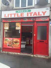 pizza shop for sale/restaurant for sale/takeaway for sale