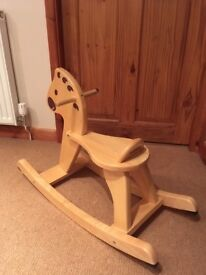 Djeco wooden childrens rocking horse