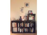 Ikea KALLAX shelving unit + one cube