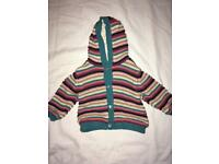 Hooded jacket age 9-12 months