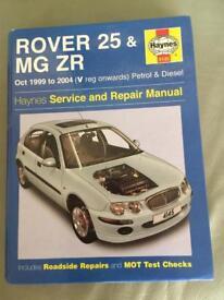Rover 25 Haynes manual