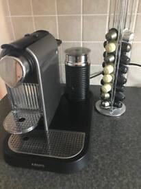 KRUPS Nespresso Citiz XN730T Coffee machine and milk frother