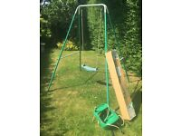 TP Early Child's Garden Swing, bucket seat attachment available