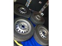 14 inch wheels and tyres from Nissan NV200