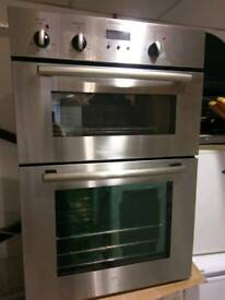 Electrolux Built-In Electric Double Oven in Stainless Steel