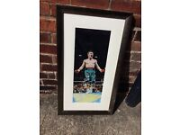 Ricky Hatton Quality framed picture