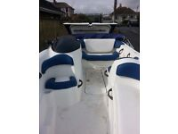 seadoo jet boat 1800 twin rotax Great family day boat