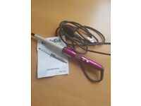 Babyliss Ceramic Curling Wand and Pro 200 Nano Straightener.