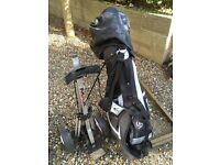 Golf set up - all you need to start to play. Good condition.