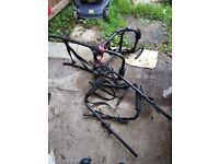 Bike rack carrier