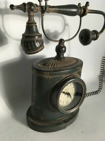 Modern take on a vintage style French telephone