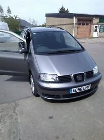 Seat Alhambra - 7 Seat people carrier in Very Good Condition
