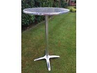 Aluminium Bistro Poseur Table