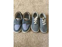 Two pairs of boys shoes size 4 - both for £5