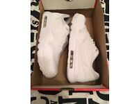 Nike Air Max 1 Ultra 2.0 Essential - All White Trainers - UK Size 9 - Worn Once