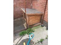 Larger dog kennel