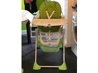 Chicco foldable highchair