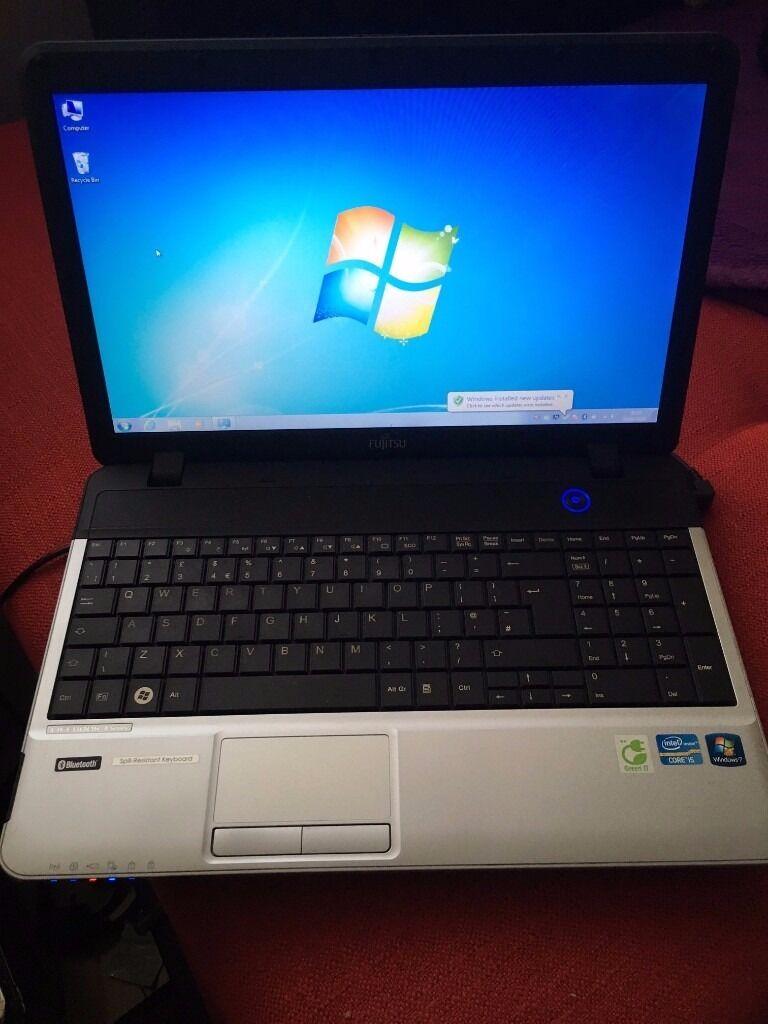 "Fujitsu Lifebook A531 15.6"" Widescreen Laptop i5 2.5GHz ..."