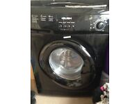 Bush 6kg Black Washing Machine 1200rpm