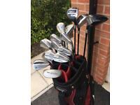 Full Set Of Golf Clubs - Titleist