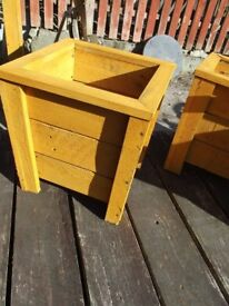 Garden Planters Tapered x 2