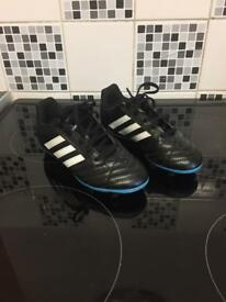Kids Size 13 adidas moulded studs