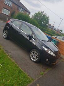 Ford Fiesta Zetec 1.4, Petrol, 5 door, Panther Black