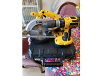 Dewalt circular saw and drill