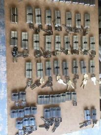 Suited door cylinders