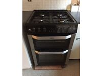 Nearly new Belling FSG60TC Stainless Steel Gas Cooker Separate Grill